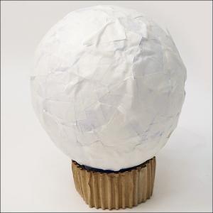 風船に和紙を貼って作る、ランプシェード作り オーロラランプ付/ 手作り工作  [動画有]|event-ya