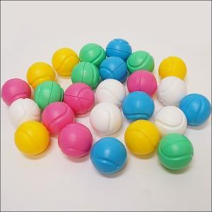 カラーボールカプセル型25個セット(5色×5個) [動画有]|event-ya