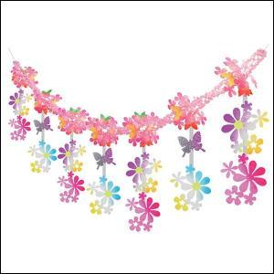 春の装飾 スプリングフラワーガーランド L180cm / 飾り ディスプレイ|event-ya
