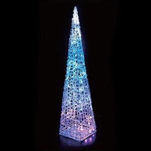 LEDイルミネーション クリスタルモチーフツリー H90cm ブルー|event-ya