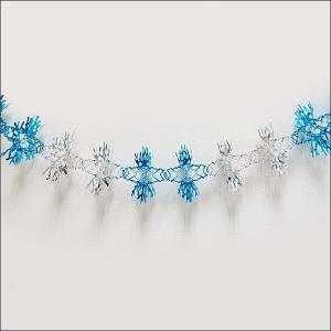 ウインター装飾 樹氷スノーガーランド L160cm/ 動画有|event-ya