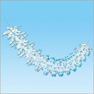 ウインター装飾 ネットガーランド L180cm / 冬 雪 ディスプレイ 飾り / 動画有|event-ya