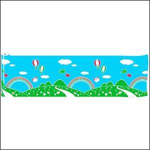 青空装飾 青空ビニール幕 60cm×50M巻 / 飾り ディスプレイ|event-ya
