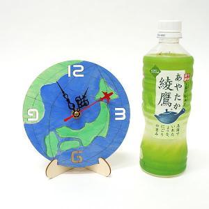 木のお絵かき時計工作キット 時計盤 / 手作り工作 絵付け お絵描き 色塗り|event-ya