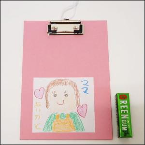 母の日工作キット お絵描きプレゼント おたよりクリップボード / 手作り 工作 教室 お絵かき/メール便可/ 動画有|event-ya