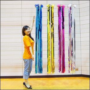 七夕 吹流し(180cm) メッキ吹き流し / たなばた 装飾 飾り|event-ya