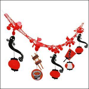 土用の丑装飾 うなぎガーランド L180cm / 鰻 ウナギ 装飾 飾り ディスプレイ|event-ya