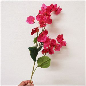 【在庫限り!】 夏装飾 ハイビスカス ブーゲンビリアスプレー 60cm / 花 夏 ディスプレイ 装飾 飾り付け|event-ya