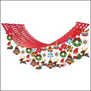 クリスマス装飾 サンタマーチハンガー L180cm|event-ya