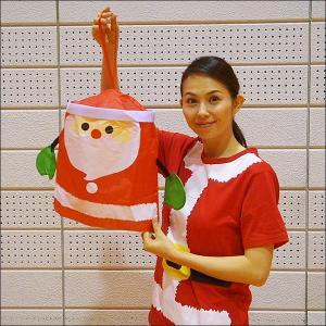 クリスマス装飾 サンタさんのハンギングデコレーション W36cm|event-ya