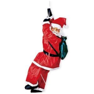 クリスマス装飾 クライミングサンタ 本体60cm / 飾り ディスプレイ デコレーション|event-ya