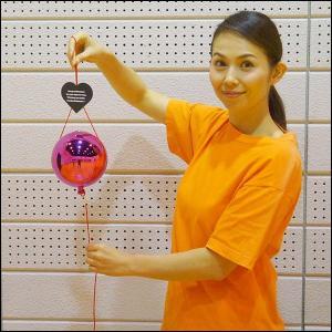 ピンクのくす玉 直径14cm|event-ya