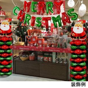 クリスマス装飾 サンタバルーンスタンド H145cm 2個セット/動画有|event-ya|03