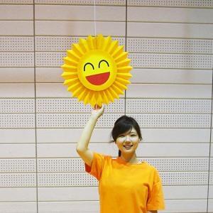 夏装飾 ひまわり太陽装飾バースト φ45cm/動画有|event-ya