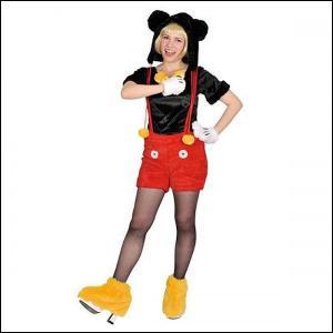 ハロウィンコスチューム モコモコミッキー Disney Moko Moko Costume Adult Mickey|event-ya