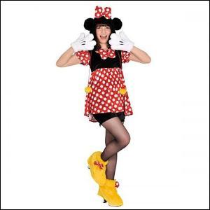 ハロウィンコスチューム モコモコミニー Disney Moko Moko Costume Adult Minnie|event-ya