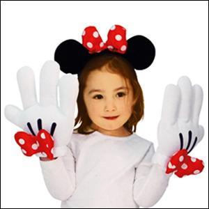 ハロウィンコスチューム ミニーヘッドバンド&グローブセットMinnie Headband & Glove Set|event-ya