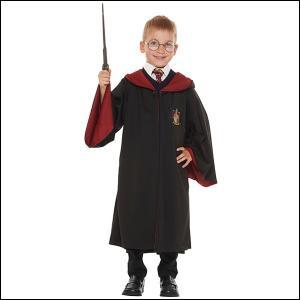ハロウィンコスチューム 子ども用グリフィンドールローブ Gryffindor Robe For Child/コスプレ キッズ|event-ya