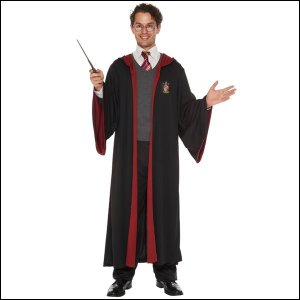ハロウィンコスチューム 男性用グリフィンドールローブ Gryffindor Robe For Man/アニメ コスプレ メンズ|event-ya