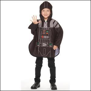 ハロウィンコスチューム ダースベイダーポンチョSW Poncho - Darth Vader/コスプレ キッズ|event-ya