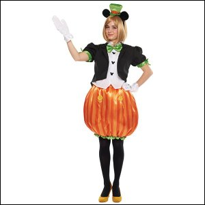 ハロウィンコスチューム 大人用パンプキンミッキーAdult Pumpkin Mickey |event-ya