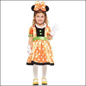 ハロウィンコスチューム 子ども用パンプキンミニ−S Child Pumpkin Minnie