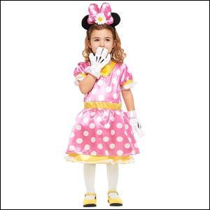 ハロウィンコスチューム 子ども用パステルミニ−S Child Pastel Color Minnie |event-ya