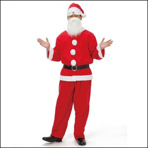 サンタクロースコスチューム(男性用)定番サンタクロース メンズ / コスプレ 衣装 パーティー|event-ya
