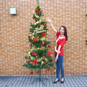 クリスマス装飾 クリスマスツリー  カナディアンGOLDシリーズ 180cm|event-ya