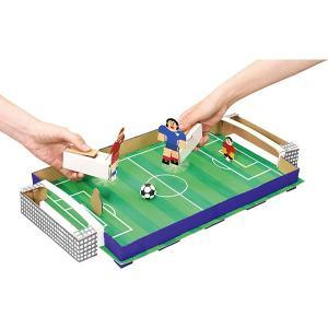 モーターパワーでゴールを決める「クラフトサッカーゲーム」工作キット / 色塗り お絵かき 手作り工作|event-ya