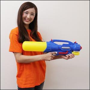58cm水撃2つの銃口からダブル噴射ウォーターガン[水てっぽう] / 動画有 event-ya