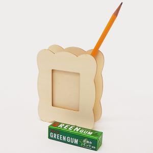 フォトフレームにもなる、お絵描き木製小物入れ|event-ya