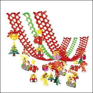 クリスマス装飾 メリークリスマス プリーツハンガー L180cm|event-ya