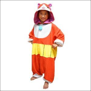[在庫処分特価]顔出し着ぐるみパジャマ 妖怪ウォッチ ジバニャン(子供用)|event-ya