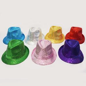 【現品限り!】スパンコールカラーハット7点セット / かぶりもの 帽子 キャップ|event-ya
