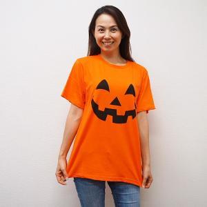 ハロウィンコスチューム パンプキンTシャツ オレンジ event-ya
