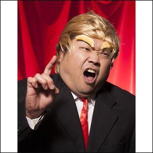 かぶりもの トランプさんセット / コスチューム コスプレ アメリカ 大統領|event-ya