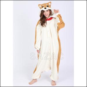 顔出し着ぐるみパジャマ シバイヌ / 柴犬 しばいぬ コスチューム コスプレ 仮装 干支|event-ya