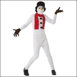 クリスマスコスチューム イケイケスノーマンタイツ / 衣装 仮装 コスプレ 雪だるま|event-ya