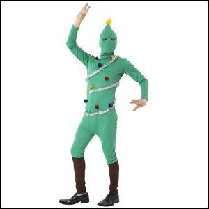 クリスマスコスチューム イケイケツリータイツ / 衣装 仮装 コスプレ クリスマスツリー|event-ya