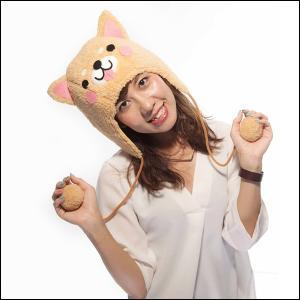 かぶりもの わんわんもこもこキャップ(干支・犬・戌) / コスチューム 帽子|event-ya