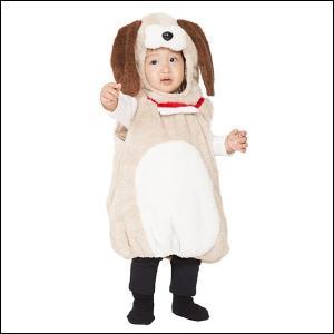 子供用コスチューム マシュマロワンワン Baby(干支・犬・戌)|event-ya