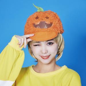 ハロウィンコスチューム MOKOMOKOキャップパンプキン|event-ya