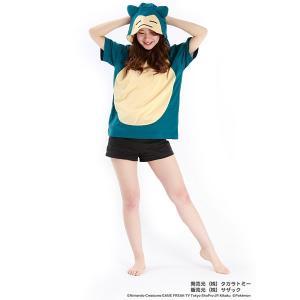なりきり着ぐるみTシャツ カビゴン / ポケモン ポケモンGO|event-ya