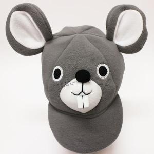 【在庫限り!特価品】1700→1200円 かぶりもの つば付ねずみキャップ(ネズミ・子・鼠) event-ya