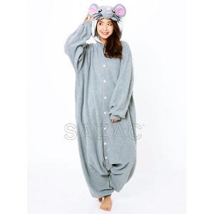 顔出し着ぐるみパジャマ ネズミ(干支・ネズミ・子・鼠) / コスチューム コスプレ|event-ya