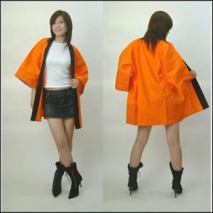 はっぴ[ハッピ・半被・袢天・伴天]カラー オレンジ|event-ya