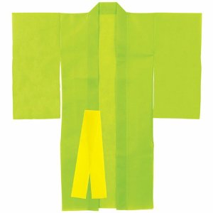 手作り衣装ベース 着物 黄緑 / 学芸会 文化祭 運動会|event-ya