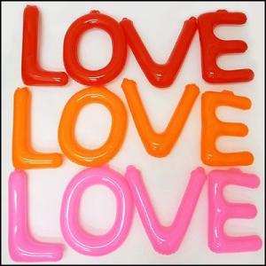 英語(英字)POPバルーン「LOVE」 / アルファベット バルーン 風船  [動画有]|event-ya