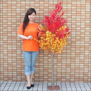 秋もみじ装飾 ナチュラル紅葉[もみじ]立木 180cm / 動画有|event-ya